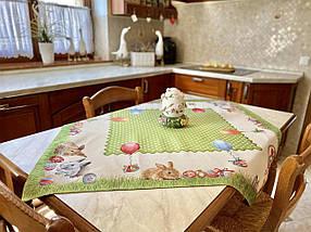 Скатерть тканевая гобеленовая пасхальная 137 х 180 см, фото 3