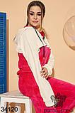 Велюровый женский прогулочный костюм Размер : 46-48,50-52, фото 2