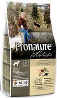 Pronature Holistic (Пронатюр Холистик) с океанической белой рыбой и диким рисом холистик корм для собак, 2,72