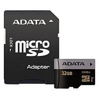 Карта памяти ADATA 32GB microSD class 10 UHS-I U3 (AUSDH32GUI3CL10-RA1)