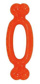 Игрушка для собак CROCI Взрывной мамбл, оранжевый, резина/силикон,  17,4x6,5x3 см