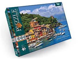 Пазлы на 1000 элементов Harbor Of Portofino Danko Toys С1000-09-06