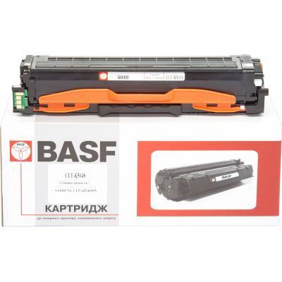 Картридж BASF Samsung CLP-415, CLX-4195 аналог CLT-K504S (KT-K504S)