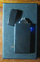 USB запальничка плазмова на 2 дуги Z-031 (чорна)