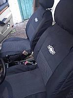 Автомобильные чехлы для сидений модельные для Chevrolet Aveo подголовники бугры сзади (цельные с сиденьем)