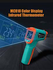Бесконтактный цифровой инфракрасный пирометр Mileseey МС818