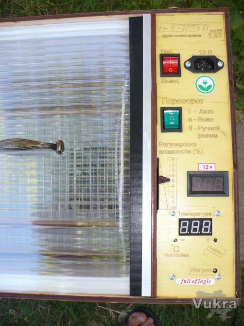 Бест-120АКБ инкубатор автоматический Ирпень