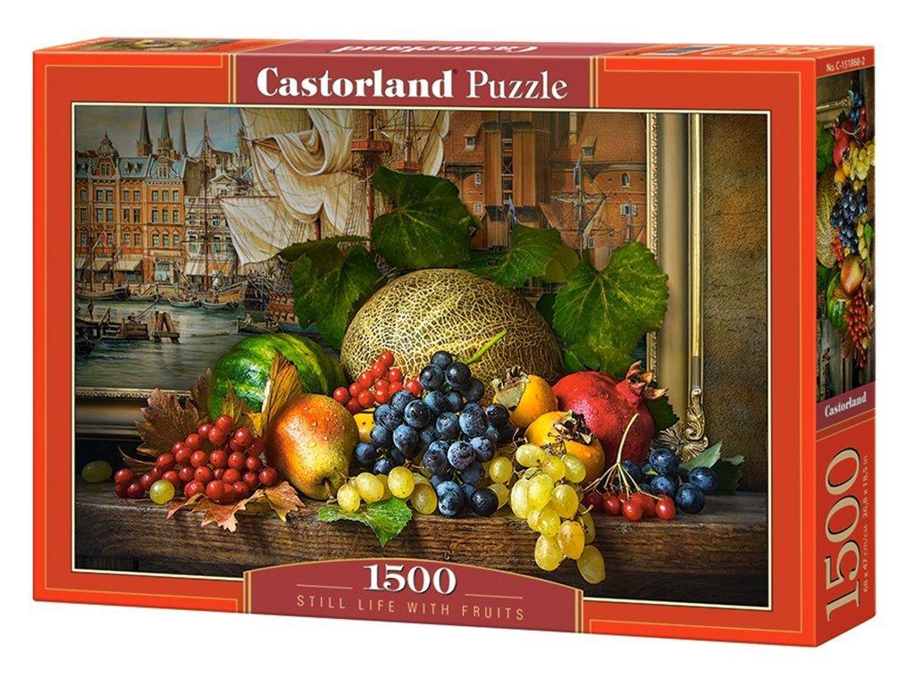 "Пазлы Castorland 1500 ""Натюрморт с фруктами"" 68*47"
