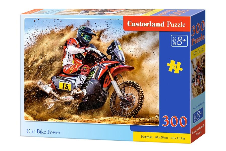 "Пазлы Castorland 300 ""Мотобайк"" 40*29"