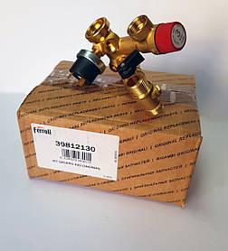 Гидроузел в сборе на газовый котел Ferroli Domicompact (old) 39812130