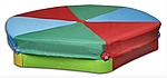 Велика барвиста пісочниця Vipkris з накриттям, фото 2