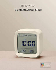 Розумний будильник Xiaomi Mijia Qingping Clock Bluetooth Smart Biege годинник термометр, гігрометр
