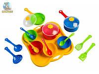 Тигрес. Набор игрушечной посуды столовый Ромашка 19 элементов
