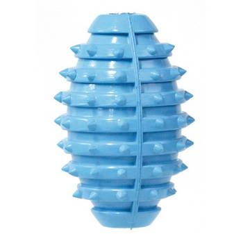 Игрушка для собак CROCI литой боченок с шипами, резина 13см,