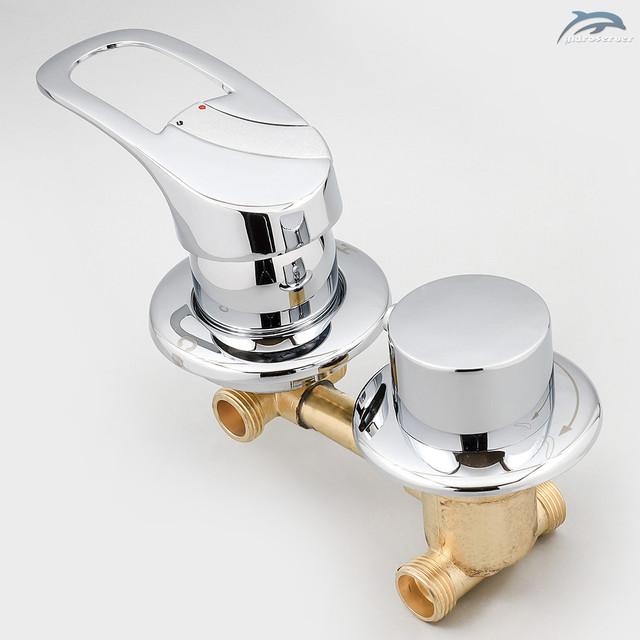 Змішувач для душової кабіни, гідромасажного боксу G2-9 з перемикачем на 2 режиму роботи.