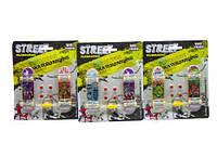 """Набор фингербордов """"Street"""" с колёсами и отвёрткой (2 шт) 238-3 MIC (TC118290)"""