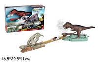 Трек Динозавр с машинкой
