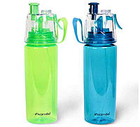 Спортивная пластиковая бутылка для воды 570 мл из пластика (тритан) Kamille