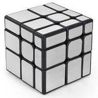 """Кубик Рубіка """"3*3 дзеркальний"""", срібний, Головоломка """"Mirror"""", фото 2"""