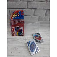 Настольная игра UNO Уно с пластиковыми карточками в коробке
