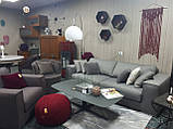 Раскладной серый диван MANHATTAN 250 см ALBERTA (Италия) бесплатная доставка, фото 8