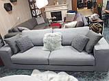 Раскладной серый диван MANHATTAN 250 см ALBERTA (Италия) бесплатная доставка, фото 2