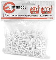 Крестики для плитки Intertool - 2 мм (200 шт.)