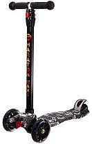Трехколесный детский самокат Maraton Maxi-B(Разные рисунки/граффити) 3 -х до 8 лет, фото 3
