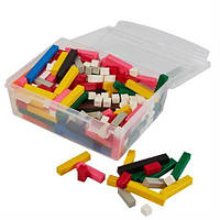 Счетные палочки Кюизенера(контейнер, пластик)