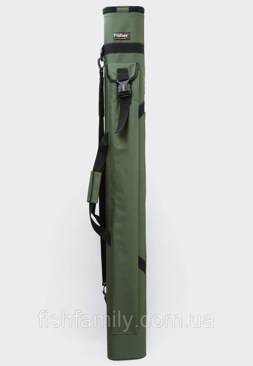 Двойной тубус для удилищ  Fisher 120 см *80 мм