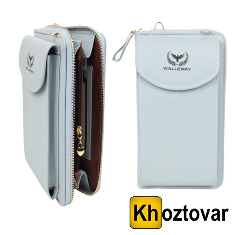 Женский кошелек Wallerry ZL8591 | Клатч