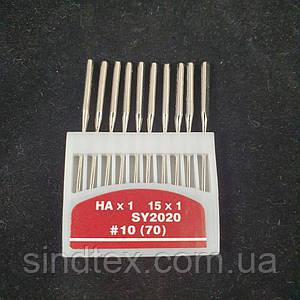 Иглы для бытовых машинок №70 10шт. (СТРОНГ-0013)
