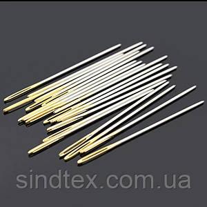 Игла для ручного шитья кожи 45,5*1,06 (СТРОНГ-0854)