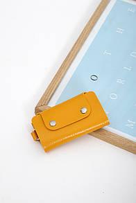 Кошельки FAMO Ключница Лана желтая One size (2007#)
