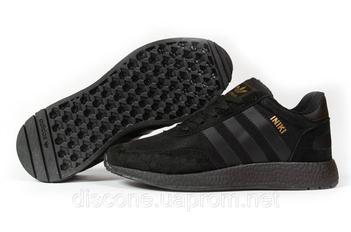 Кроссовки мужские 16862 ► Adidas Iniki, черные ✅Скидка 27% [ 44 46 ] ► (44-27,6см)