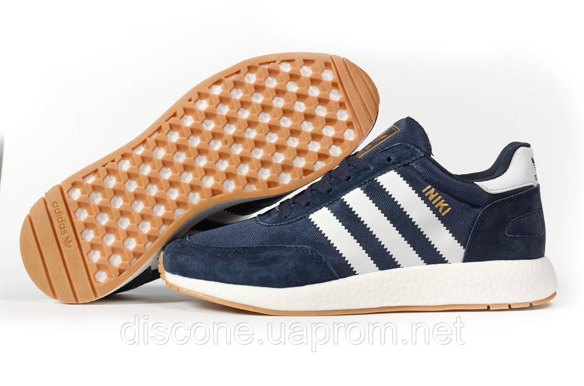 Кроссовки мужские 16866 ► Adidas Iniki, темно-синие ✅Скидка 27% [ 46 ] ► (46-29,0см)