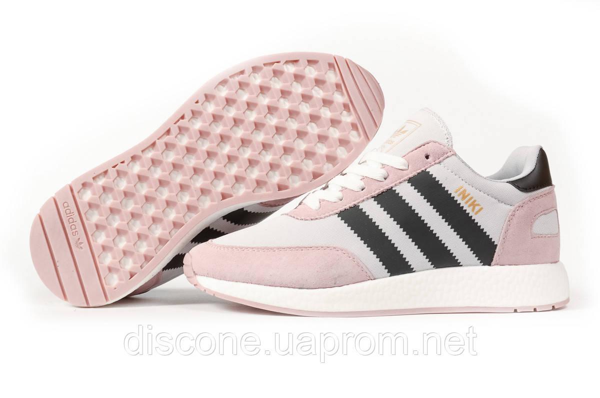 Кроссовки женские 16872 ► Adidas Iniki, розовые ✅Скидка 28% [ 37 38 39 ] ► (37-23,0см)
