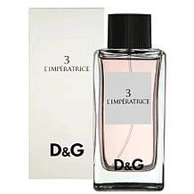 Dolce&Gabbana 3 L'Imperatrice Туалетная вода 100 ml ( Духи Парфюм Женские Дольче Габбана Императрица ) D&G