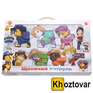 """Набір фігурок для дітей від 3 років """"Щенячий патруль"""" Jir Du Toys Paw Patrol"""