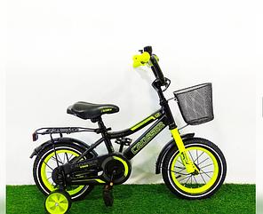 Детский двухколесный велосипед Crosser Rocky зеленый 14 дюймов зеленый