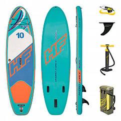 Надувная доска для плавания серфинга с веслом SUP-борд BESTWAY 65312