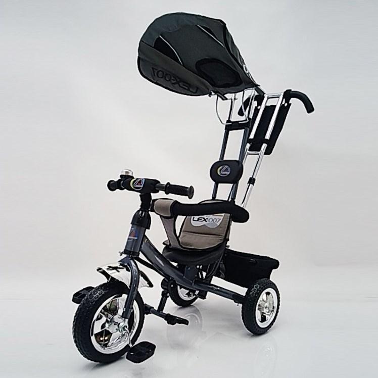 Велосипед трехколесный Lex-007(10/8) EVA колеса Серый