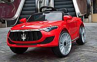 Детский электромобиль T-7628/1 EVA Red Maserati, красный