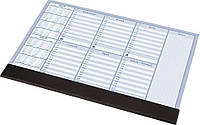 Планинг Настольный недельный планинг 2019-2020 гг, 30 листов, черный PANTA PLAST 0318-0005-01