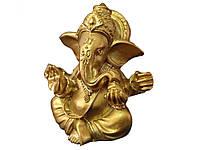 Статуя бога слона Ганеши  Золотой