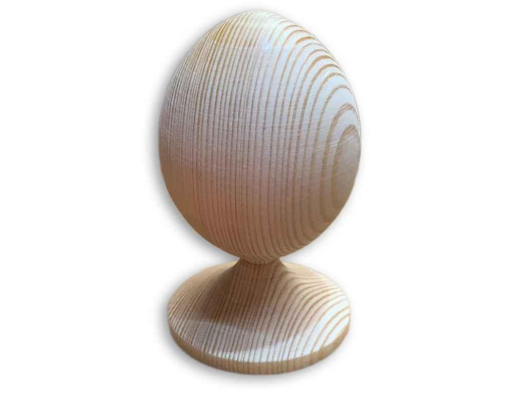 Заготовка дерево без малюнку Яйце на підставці ТМЗАПАДНАЯ