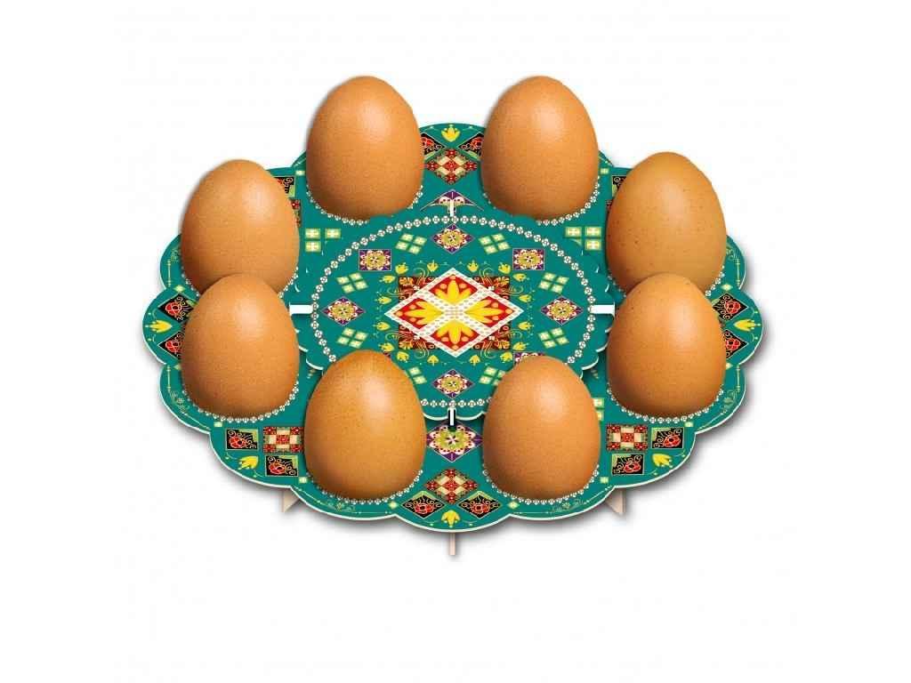 Декоративна підставка для яєць №8 Традиційна (8 яєць) ТМEASTERS