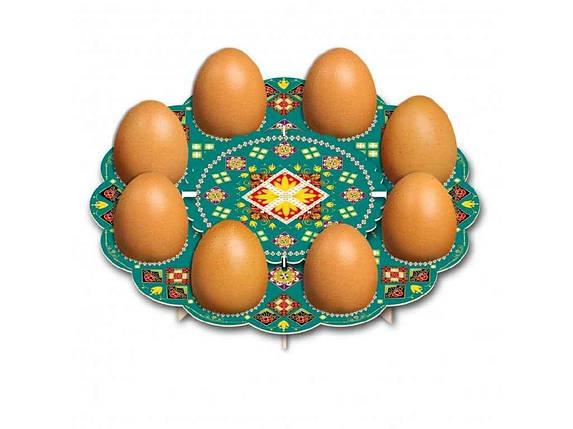 Декоративна підставка для яєць №8 Традиційна (8 яєць) ТМEASTERS, фото 2