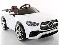 Детский электромобиль T-7650 EVA White, Mercedes, белый