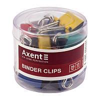 Биндер для бумаги Биндер цветной 25 мм туба (12шт) ассорти  Axent 4410-A